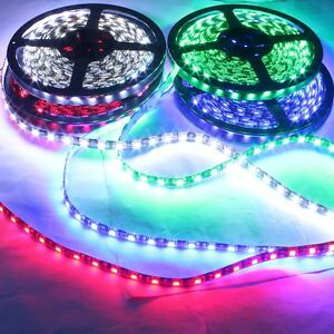 100pcs Decorative Flexible Waterproof Led Strip Light 5m 5050 300smd Cold White