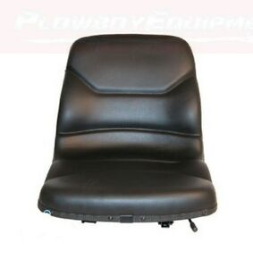 Black Tractor Seat For Allis Chalmers 8030 8050 8070 8550