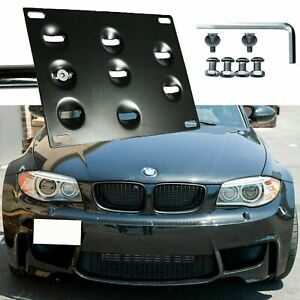 License Plate Mounting Tow Hook Kit Fit Bmw 1 3 5 6 Series X5 X6 Z3 Z4 1996 2013