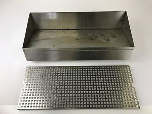 Micromatic Drip Tray Riser For Clamp On Wine Font Stainless Steel