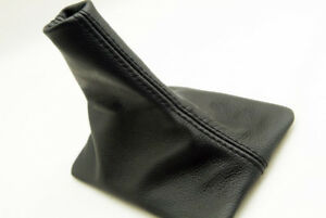 Manual Shift Boot Leather Synthetic For Ford Mustang 05 09 Black