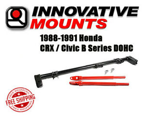 Innovative Competition Traction Bar 1988 1991 Honda Crx Civic B Series Dohc Jdm