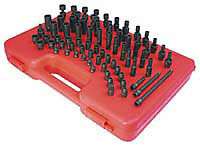 Sunex Tools 1874 74 Piece 1 4 Drive Master Sae And Metric Socket Set New