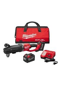 Milwaukee 2709 22hd M18 Fuel Super Hawg High Demand Right Angle Drill Kit
