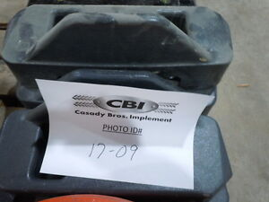 Kubota F series Rear Wheel Weight Assembly