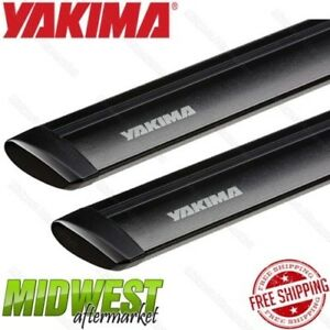 Yakima Universal 60 Black Jetstream Roof Rack Cross Bar Pair