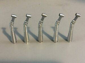 Midwest Contra Angle Sheath W head Dental Handpiece Lot Of 5 1 Dentistry