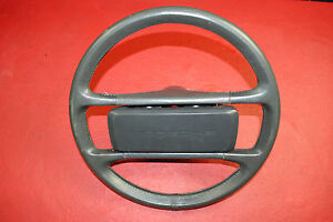 Porsche 911 930 964 Carrera Classic Steering Wheel 4 Spoke Grey Leather Oem
