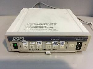 Karl Storz Twin Video 202013 20 Console Medical Endoscopy Equipment Video