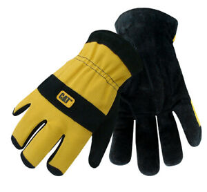 Cat Gloves Cat012222l Large Lined Leather Glove Pack 2 Part Cb0105