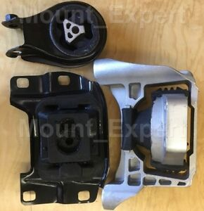 3pcset Motor Mounts Fit 2007 2013 Mazda 3 Mazdaspeed 6 Speed 2 3l Turbo Engine
