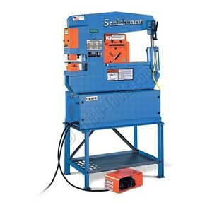Scotchman Portafab 45 Ironworker With Punching Station