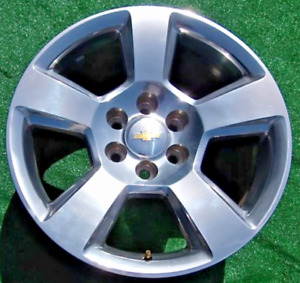 Genuine Gm Oem Factory Tahoe Suburban Silverado Rd4 Polished 20 Inch Wheel 5652