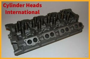 Ford 6 0 Powerstroke Diesel Cylinder Head 18 Mm With New Cups