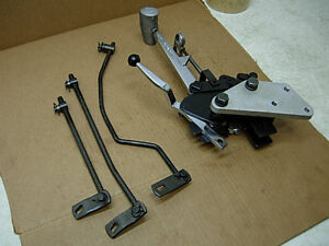 Mr Gasket V Gate 4sp Inline Race Shifter Linkage Mopar A Body Dart Duster A833