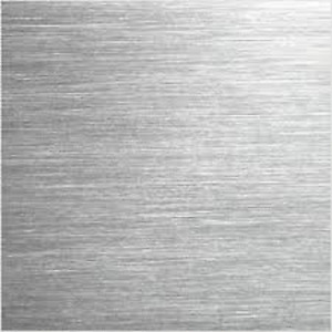 Alloy 304 18 Ga Stainless Steel Brushed Sheet Plate W Pvc 12 X 36 f