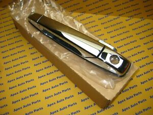 Chevrolet Gmc Cadillac Truck Suv Chrome Lh Front Drivers Door Handle Oem New
