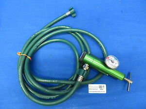 Cp870 15uf d Compressed Gas Regulator For Oxygen Service W green Hose 9100 27