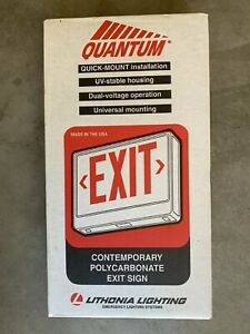 Brand New Lithonia 120 277 Emergency Exit