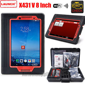 Launch X431 V 8 Inch Lcd Wifi Bluetooth Tablet Full System Diagnostic Scanner
