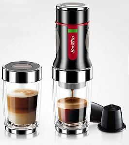 NEW Portable Hand Press Coffee Maker Mini Espresso Pods Coffee Machine