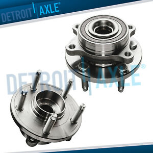 2011 2012 2016 Edge Flex Taurus Lincoln Mks Mkt Mkx 2 Rear Wheel Hub Bearings
