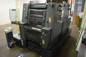 Heidelberg Pm Gto52 2 Year 2001 Used Printing Press Gto 2 Color Printmaster