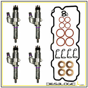 2001 2004 6 6l Diesel Injector Half Super Set For Chevy gmc Duramax Lb7 Oe Spec