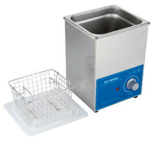 2l Ultrasonic Cleaner Ultra Sonic Tank Bath Cleaning Stainless Steel W timer Us