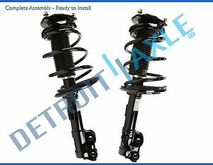 2 Front Strut Coil Spring For 2012 2013 2014 Toyota Camry Excludes Se Models