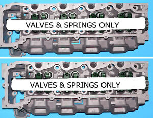 2 Chrysler Jeep Cherokee 4 7 Sohc Dual Plug Cylinder Heads Val spring Only 08 12