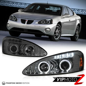 04 08 Pontiac Grand Prix Gt Gxp Gtp L r Halo Projector Smoke Headlight Lamp