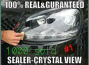 2 Super Strong 2000 Headlight restore Kit Lens restoration clean Clear Original