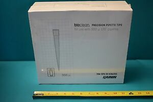 New Bioclean Precision Pipette Tips 300ul Lts 768 Tips In 8 Racks