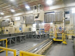 Giant Rambaudi fidia 5 axis Cnc Travelling Gantry Vertical Mill 27 In x Axis