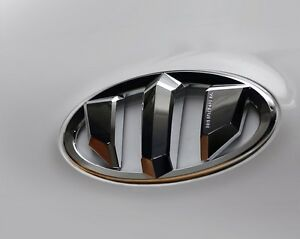 Brenthon Grill Trunk Emblem Badge For 2012 2013 2014 2016 Hyundai Veloster 2pc
