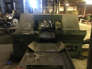 Doall Band Saw Cj 410a 12 x16 Cut Automatic Feed