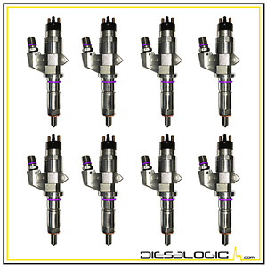 2001 2004 6 6l Diesel High Performance Injectors Lb7 Chevy gmc Duramax 30 Over