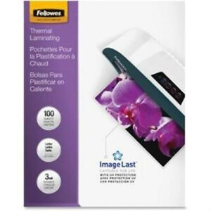 Laminating Pouches 100pk Clear By Fellowes laminating Pouches Letter 3mil 10