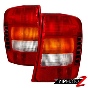 Factory Style Red Tail Lights Lamps Replacement For 99 04 Jeep Grand Cherokee