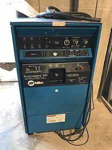 One Pristine Genuine Oem Miller Syncrowave 351 Ac dc Welding Power Source A Deal
