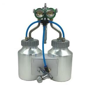 Spray Gun Paint Air Compressor Airbrush Hvlp Spray Chrome Airbrush Double Nozzle