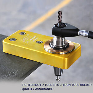 Sfx 1 Pc Chiron Tool Holder Tightening Fixture Ch30 Cnc Tool Locking Device