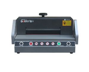 330mm Desktop Electric A4 Paper Cutter Automatic Paper Cutting Machine 110v Y