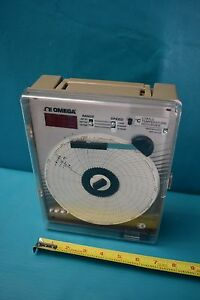 Used Omega Ct87lc Temperature Recorder Missing Power Supply Probe