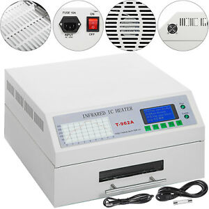 Reflow Oven T962a Infrared Ic Heater Smd Bga Soldering Accurate Temperature
