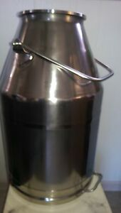 New Stainless Steel Milk Bucket Fits Delaval 80 Pound Capacity