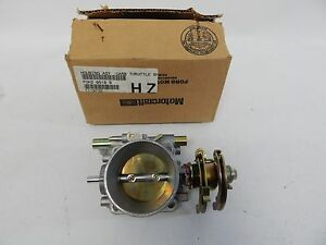New Oem 1990 Up Ford Medium Heavy Truck Carburator Throttle Housing Assembly