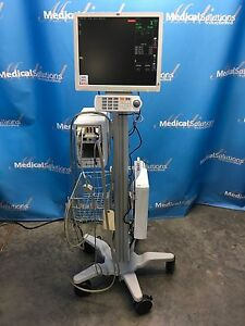 Ge Solar 8000i Patient Monitoring System With Cart