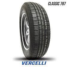 4 New P225 70r15 Classic 787 Vercelli White Wall Tire 225 70 15 2257015